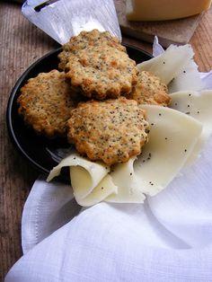 Mákos sajtos keksz