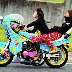 bosozoku girls - Kawaii Motorcycle Gangs