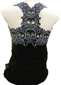 Skull top for Baby Jaxon's Mama