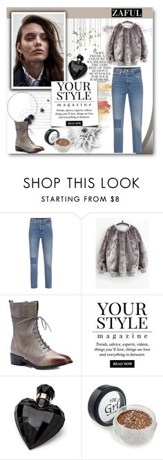 """""""Zaful"""" by dreamer55s ❤ liked on Polyvore featuring Levi's, Folio, Pussycat and Lipsy"""