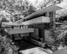 Fallingwater / Kaufman Residence. 1936-9. Bear Run Creek in Mill Run, Pennsylvania. Frank Lloyd Wright. Photo: Steve Shilling II