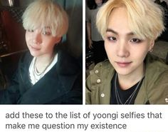 Truth, like that forehead though XD, live for forehead yoongi lol