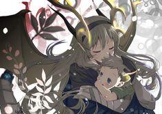 Corrin and baby Kana