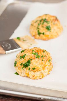 Cheddar Bay Drop Biscuits- Copycat recipe from Red Lobster! SO delicious : )