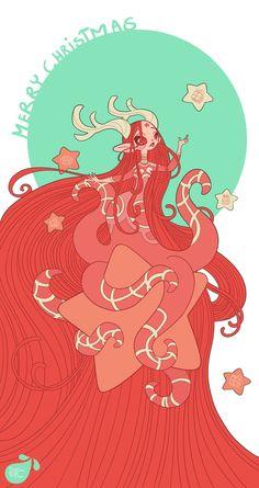 Merry Christmas by MeoMai on DeviantArt