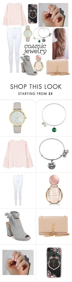 """""""What's Your Sign: Cosmic Jewelry (Taurus)"""" by emily5302 ❤ liked on Polyvore featuring Kate Spade, Alex and Ani, MANGO, Miss Selfridge, Bulgari, Kristin Cavallari, Yves Saint Laurent, SoGloss, Casetify and cosmicjewelry"""
