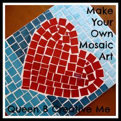Make your own mosiac art @Pocket Full of Pink