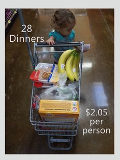 Cook One Time: Dinner for about $2!