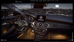 Mercedes Benz CLA Shooting Brake Webspecial on Behance