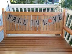"""Could Do """"Fall In Love 10-12-13"""" fall wedding burlap sign country wedding by RedHeartCreations, $29.00"""