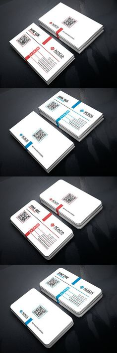 Simple Professional Business Card for Business Professional Business Card Design, Cool Business Cards, Business Card Mock Up, Corporate Business, Corporate Identity, Creative Business, Letterhead Design, Letterhead Template, Brochure Template