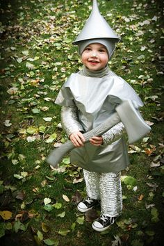 "tin man - halloween costume @Jenny Strong Harris might this be ""do-able"""