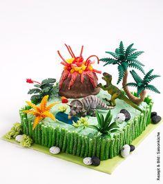 Dinosaurier-Torte