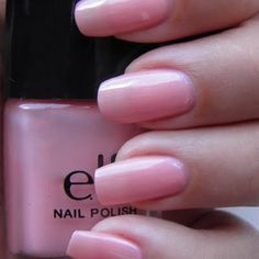 E.L.F. Light Pink- Almost as good as OPI and 1/4 the price