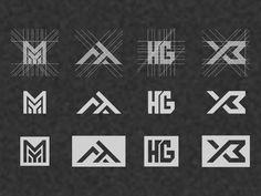 colection logo initial. by warehouse_logo on Dribbble Icon Design, Logo Design, Esports Logo, Initials Logo, Warehouse, Logos, Villa, Social Media, Swimsuits