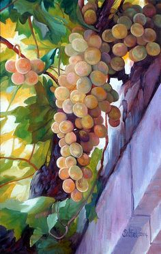 oil painting...LOVE the colours