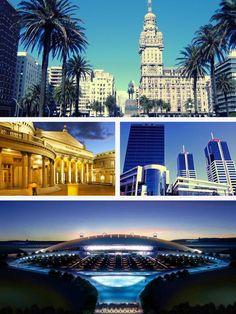 Mi ciudad natal, Montevideo,  Uruguay♥♥♥ Te extraño mi hermosa!!