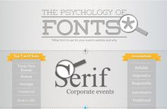 #9 The Psychology of Fonts. Enfuzed's 10 Most Popular Articles of 2013 #Colors #Infographic