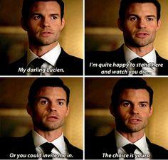 """#TheOriginals 3x02 """"You Hung the Moon"""" - Elijah"""