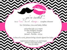Beer and Diaper Gender Reveal Invite Invitation by 527Studio, $14.00