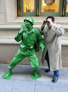 Green army man cosplay
