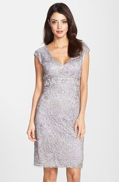 a7f0d8d6338 Free shipping and returns on Sue Wong Embellished Illusion Back Sheath Dress  at Nordstrom.com