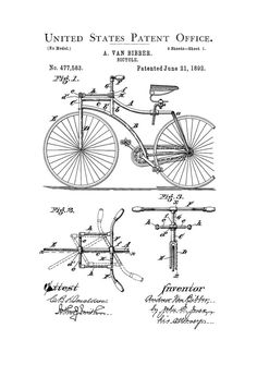 Road engine patent patent print wall decor automobile decor 1892 bicycle patent cyclist gift bicycle decor vintage bicycle bicycle blueprint bicycle art bicycling enthusiasts bike patent malvernweather Image collections