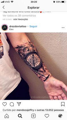 Tribal Arm Tattoos, Forarm Tattoos, Cool Forearm Tattoos, Hand Tattoos For Guys, Arm Sleeve Tattoos, Tattoo Sleeve Designs, Life Tattoos, Tattoo Designs Men, Body Art Tattoos