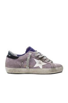 GOLDEN GOOSE Superstar Suede Low Sneakers. #goldengoose #shoes #