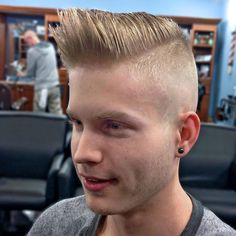 The Burst Fade Mohawk Haircut Usher may have popularized the burst fade Mohawk haircut, but it has since become a cult favorite for men who like to wear a classier Mohawk. This haircut is also know…