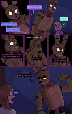 Delilah and springtrap page  90