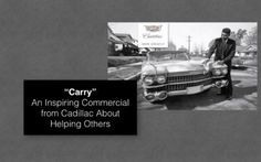 """""""Carry"""" – Inspiring Cadillac 2017 Oscars Commercial – A Nation United"""