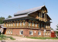 Чудо-домик в Ковернино Нижегородской области!