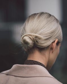 "5,871 Likes, 49 Comments - I'm such a Carrie Bradshaw (@marinathemoss) on Instagram: ""low bun """