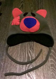 Как сшить шапку с флиса