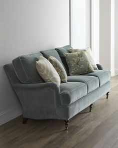 Charmant Kallita Sofa By Lee Industries At Horchow. Stunning Choice, Great Blue  Color To Tie