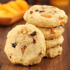 Fruitcake Cookies -- unbelievably soft & made with real fruit!