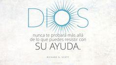 Tu fe en Dios, te sostendrá en tus problemas. #FrasedelDía