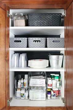 IHeart Organizing: Client Kitchen Cabinet & Drawer Overhaul: The Befores, Afters, and Sources
