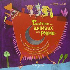 Comptines des animaux de la ferme (1CD audio) de Yves Prual http://www.amazon.fr/dp/2278059017/ref=cm_sw_r_pi_dp_I9RCwb1998N4E