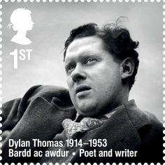 Dylan-Thomas-Briefmarke-2014
