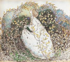 "A Polar Bear's Tale: Annie French (1872-1965) ""The Leafy Bower"""