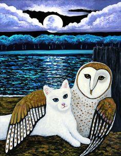 Google Image Result for http://www.khanstudiointernational.com/paintings/2012glass_owl%2520and%2520pussycat2.jpg