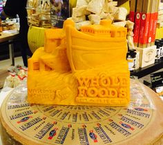 Whole Foods Cheese Sculpture
