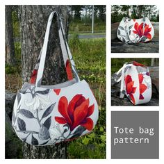 This beautiful tote is by JoiKuHandmade and is a beautiful bag and perfect for shopping! The pattern download includes pattern pieces and sewing instructions.