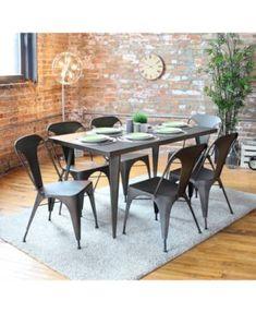 Lumisource Austin  Dining Table Quick Ship Furniture Macys