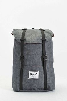 f8a7b7058c56 Retreat Rubber Strap Backpack. Herschel BackpackHerschel Supply CoFashion  ModaJacketsBag PackBagsUrban ...