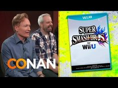 Conan Plays and Reviews Nintendo's Upcoming Wii U Fighting Game 'Super Smash Bros.' on His 'Clueless Gamer' Series