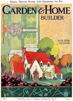 F. William Haemmel - Garden & Home Builder for January 1926.