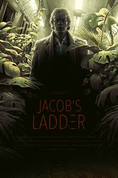 Jacobs Ladder (1990) [700 x 1050] Best Movie Posters, Movie Poster Art, Film Posters, Cinema Movies, Horror Movies, Tim Robbins, Jacob's Ladder, Alternative Movie Posters, The More You Know